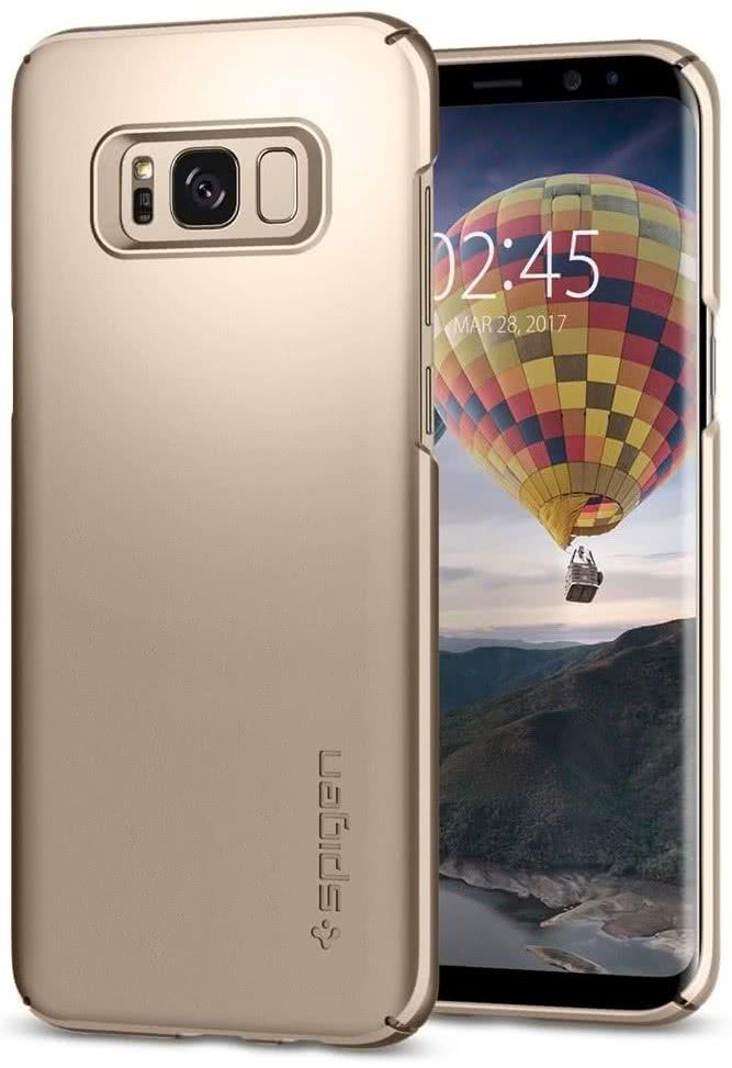 SPIGEN - Samsung Galaxy S8 Thin Fit Gold Maple (565CS21622)