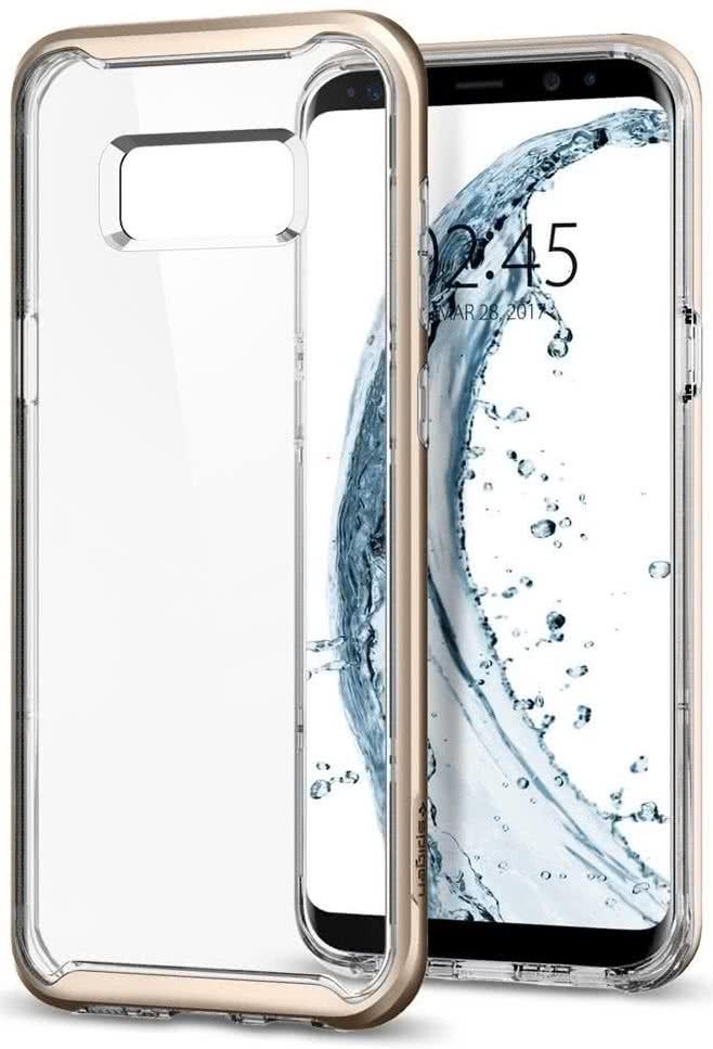SPIGEN - Samsung Galaxy S8 Case Neo Hybrid Crystal Maple Gold (565CS21603)