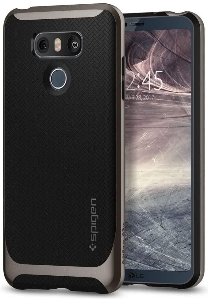 SPIGEN - LG G6 Case Neo Hybrid Gunmetal (A21CS21236)