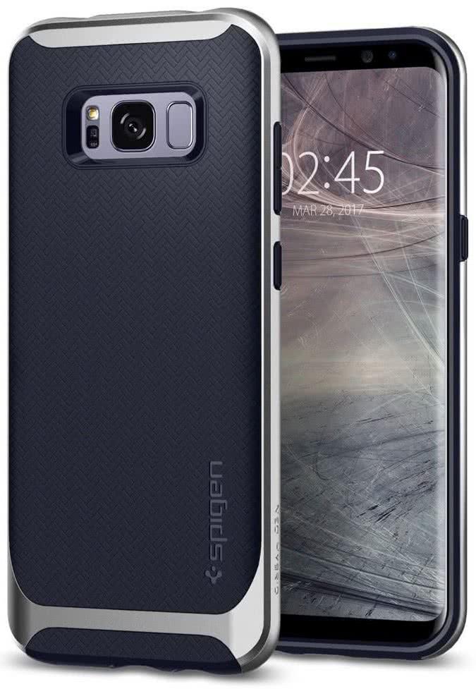 SPIGEN - Samsung Galaxy S8 Plus Case Neo Hybrid Silver Artic (571CS21652)