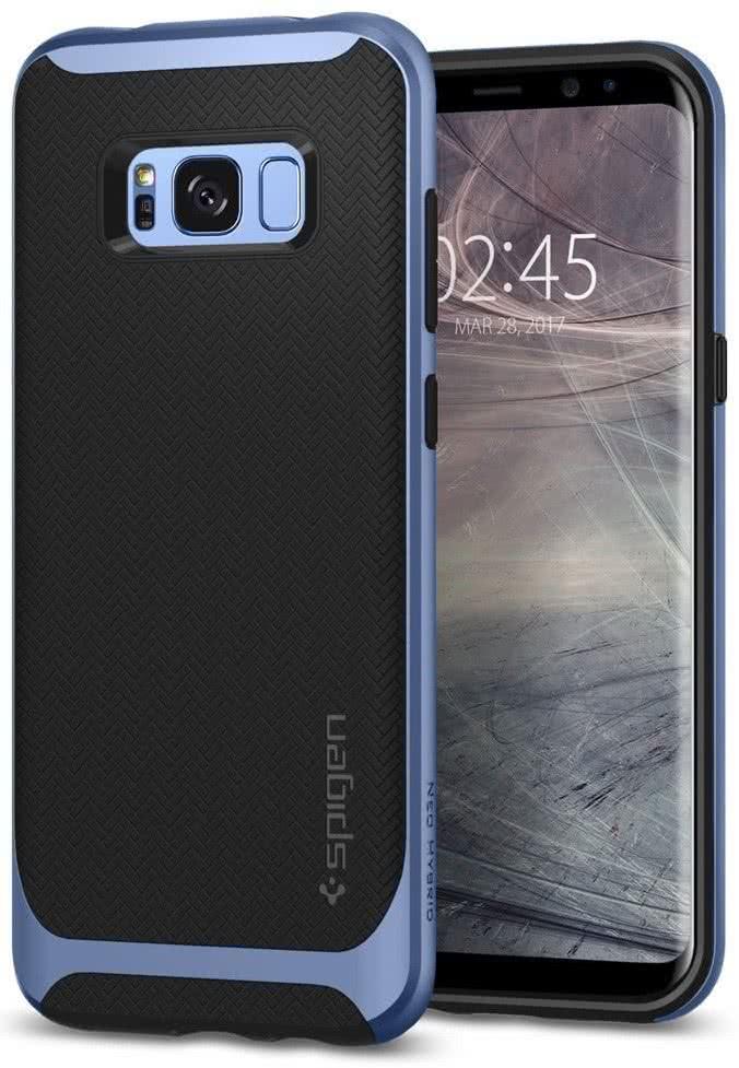 SPIGEN - Samsung Galaxy S8 Case Neo Hybrid Blue (565CS21598)