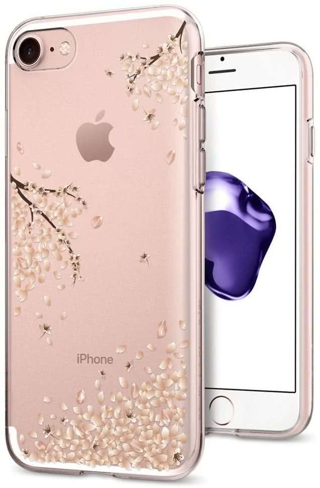 SPIGEN - iPhone 7/8 Case Liquid Crystal Shine Blossom (042CS21220)