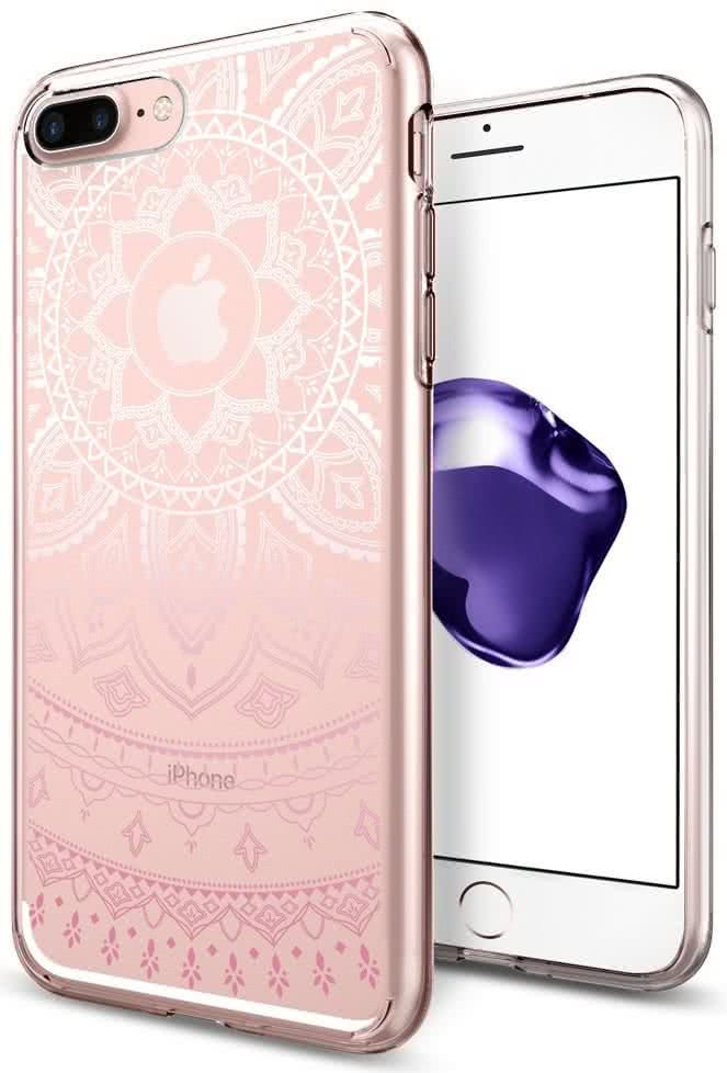 SPIGEN - iPhone 7/8 Plus Case Liquid Crystal Shine Pink (043CS20960)