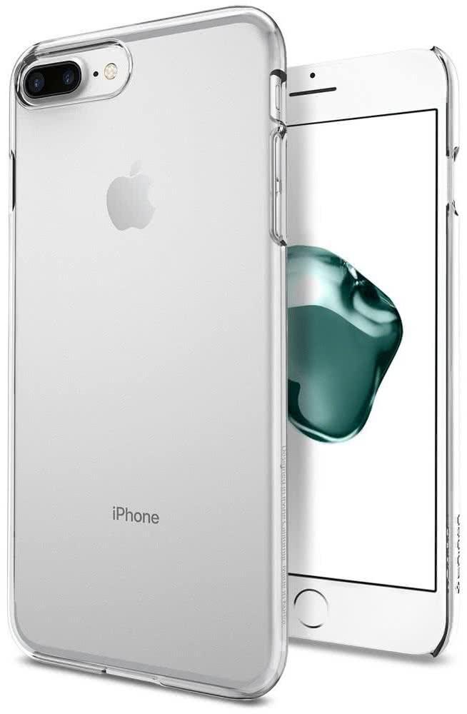 SPIGEN - iPhone 7/8 Plus Case Thin Fit Crystal Clear (043CS20935)