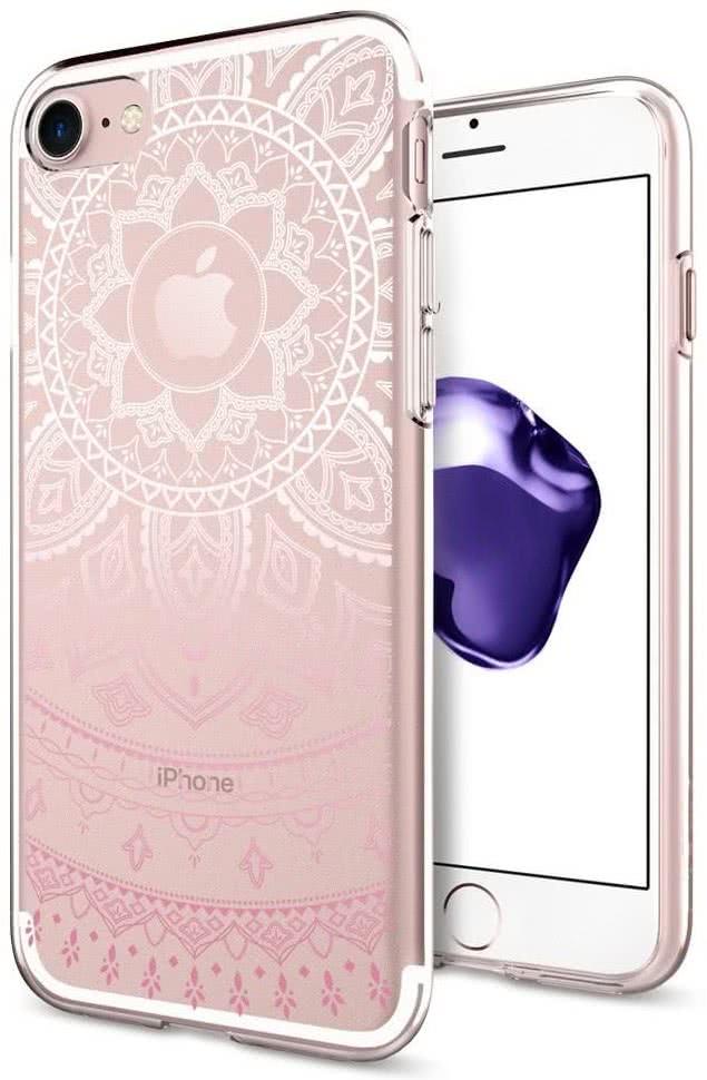 SPIGEN - iPhone 7/8 Case Liquid Crystal Shine Pink (042CS20958)