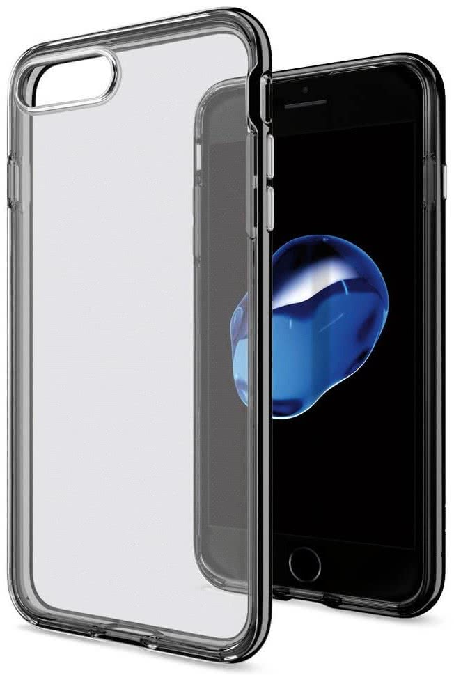 SPIGEN - iPhone 7/8 Plus Case Neo Hybrid Crystal Jet Black (043CS20847)