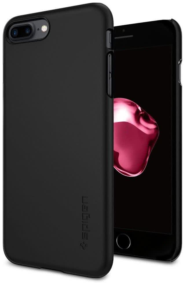 SPIGEN - iPhone 7/8 Plus Case Thin Fit Black (043CS20471)