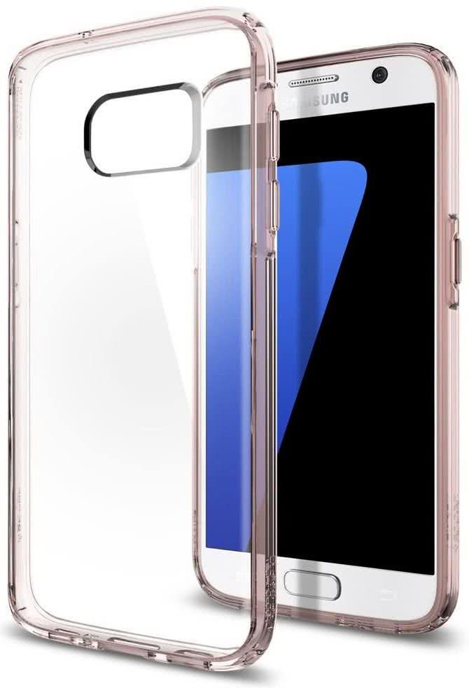 SPIGEN - Samsung Galaxy S7 Case Ultra Hybrid Rose Crystal (555CS20010)