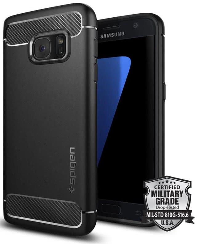 SPIGEN Galaxy S7 Case Rugged Armor (555CS20007)
