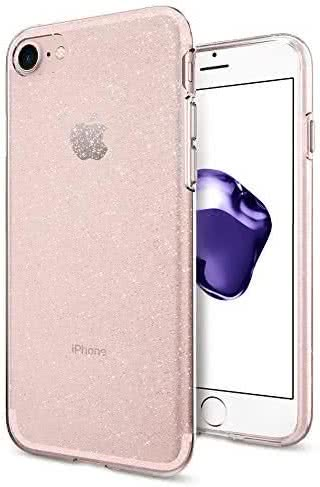 SPIGEN iPhone 7/8 Case Liquid Crystal Glitter Rose Crystal (042CS21419)