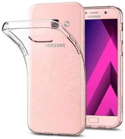 SPIGEN - Samsung Galaxy A3 2017 Case Liquid Crystal Glitter Clear Quartz (572CS21449)