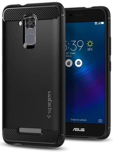 SPIGEN - ZenFone 3 Max Case Rugged Armor Black (O02cs21412)