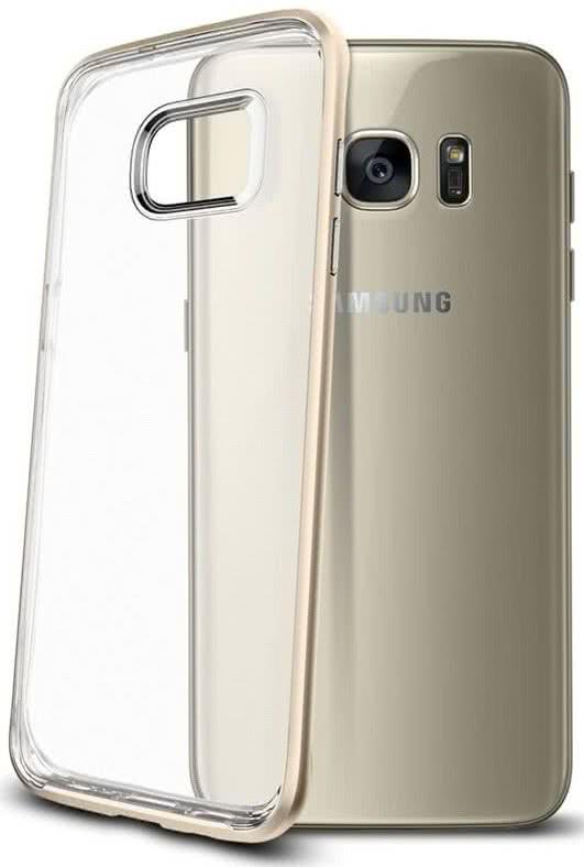 SPIGEN Galaxy S7 Edge Case Neo Hybrid Crystal Champagne Gold (556CS20048)