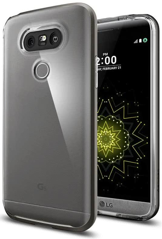 SPIGEN LG G5 Case Neo Hybrid Crystal Gunmetal (A18CS20135)