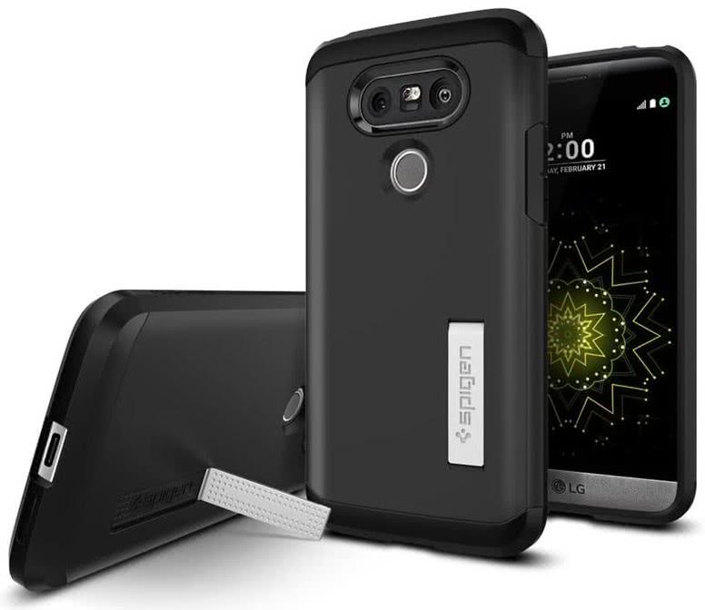 SPIGEN LG G5 Case Tough Armor Black (A18CS20139)