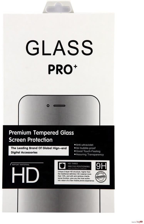 Sklenená fólia GLASS PRO+ pre Samsung Galaxy A3 2017 na celý displej, 0.30 mm, biela