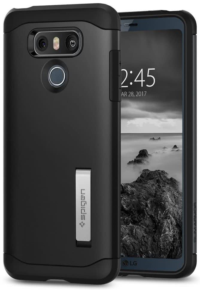 SPIGEN - LG G6 Case Slim Armor Black (A21CS21239)