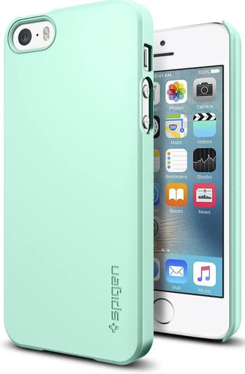 SPIGEN iPhone SE Case Thin Fit Mint (041CS20170)