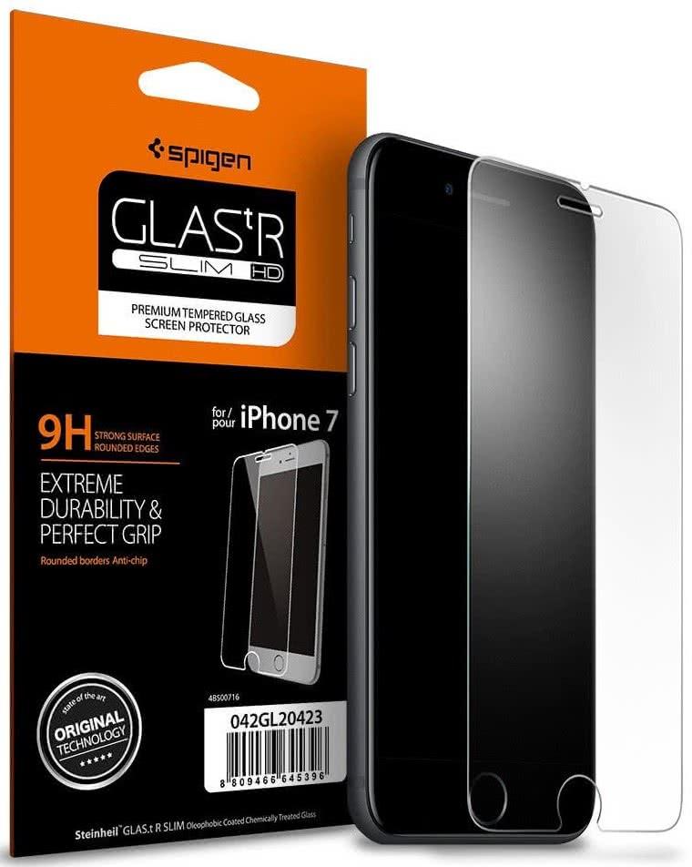 SPIGEN - iPhone 7/8 Screen Protector GLAS.tR SLIM HD (042GL20423)
