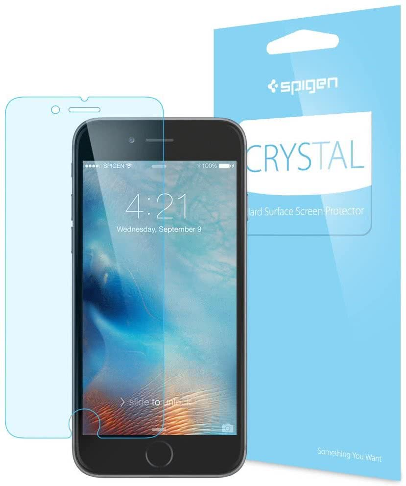 SPIGEN - iPhone 6/6s LCD Film Crystal CR  (SGP11585)
