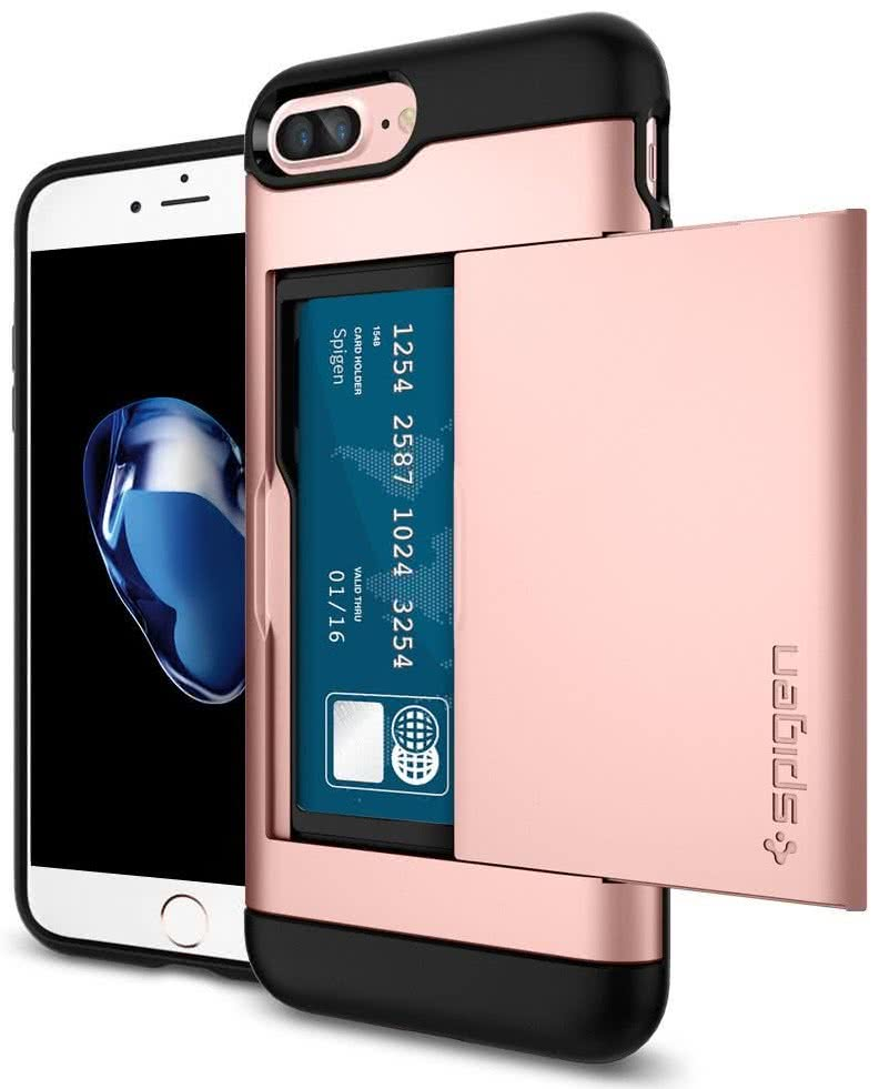 SPIGEN - iPhone 7/8 Plus Case Slim Armor CS Rose Gold (043CS20527)