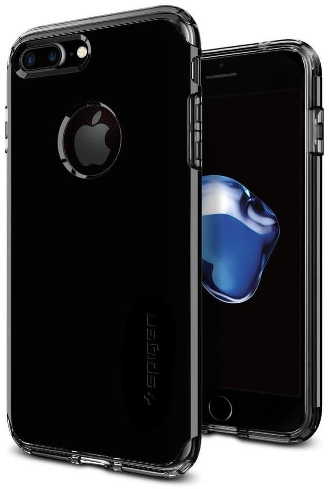 SPIGEN - iPhone 7/8 Plus Case Hybrid Armor Jet Black (043CS20849)