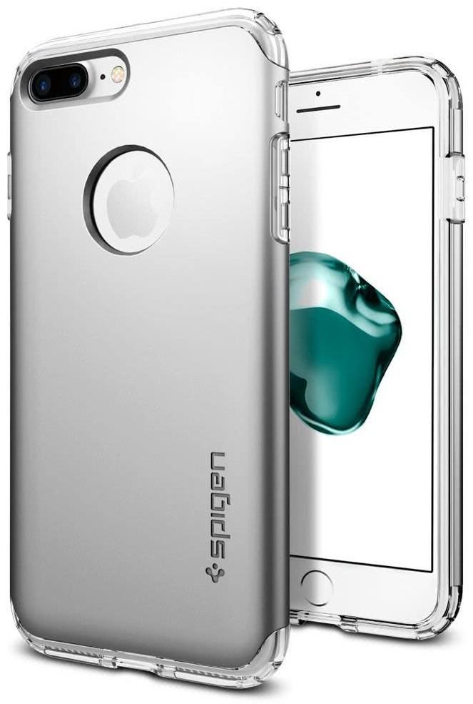 SPIGEN - iPhone 7/8 Plus Case Hybrid Armor Satin Silver (043CS20698)
