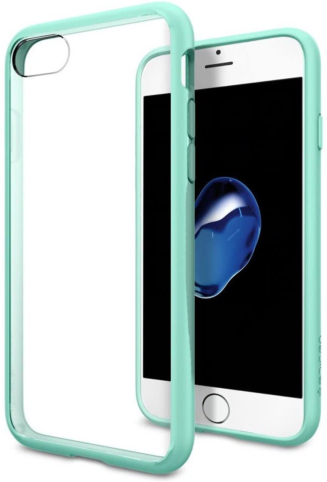 SPIGEN - iPhone 7/8 Case Ultra Hybrid Mint (042CS20447)