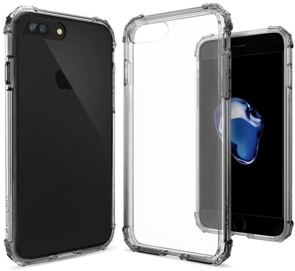 SPIGEN - iPhone 7/8 Plus Case Crystal Shell Dark Crystal (043CS20500)