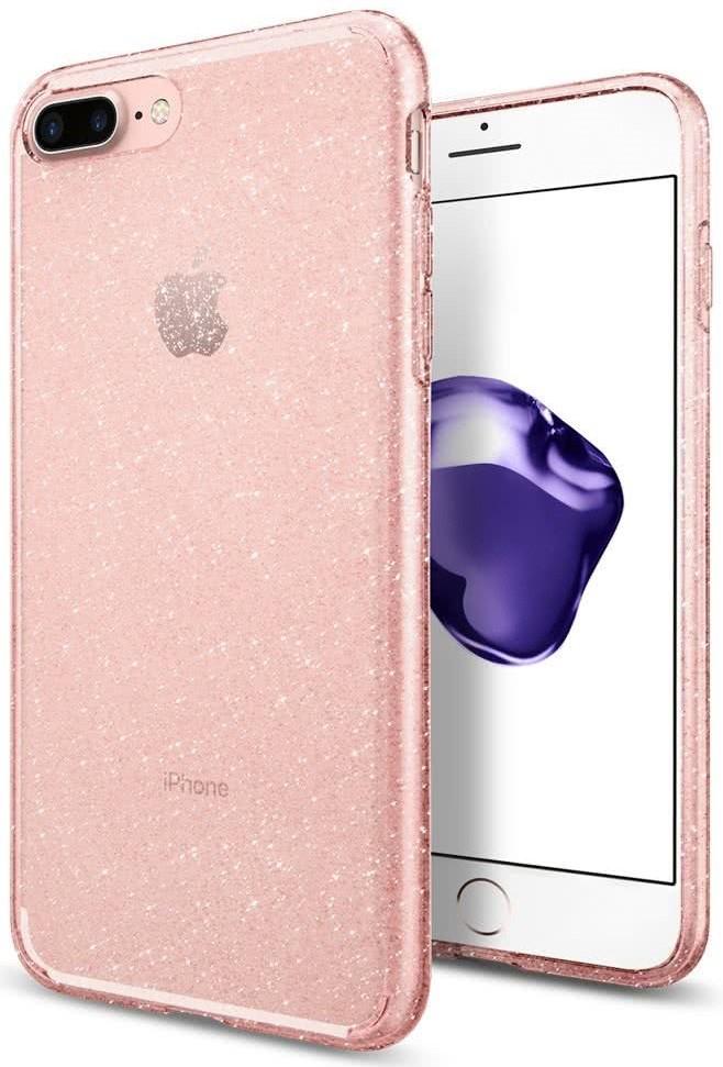 SPIGEN - iPhone 7/8 Plus Case Liquid Crystal Glitter Rose (043CS21759)