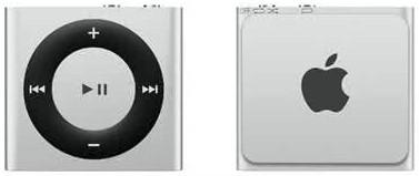 Apple iPod Shuffle 2GB, Silver