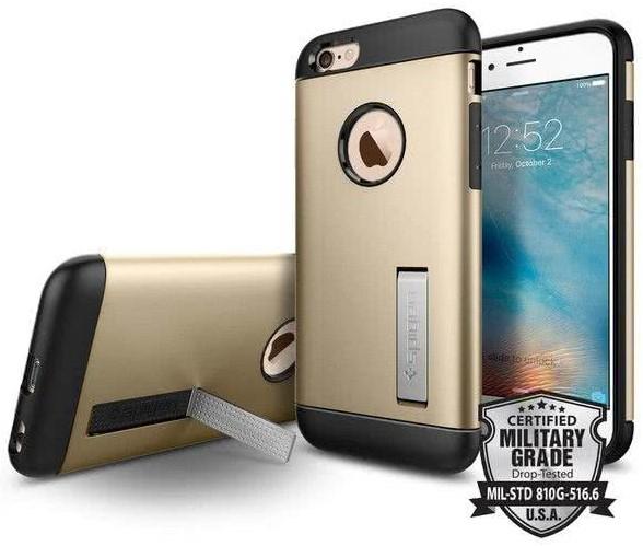SPIGEN - Slim Armor, iPhone 6/6s,  Champagne Gold  (SGP11607)