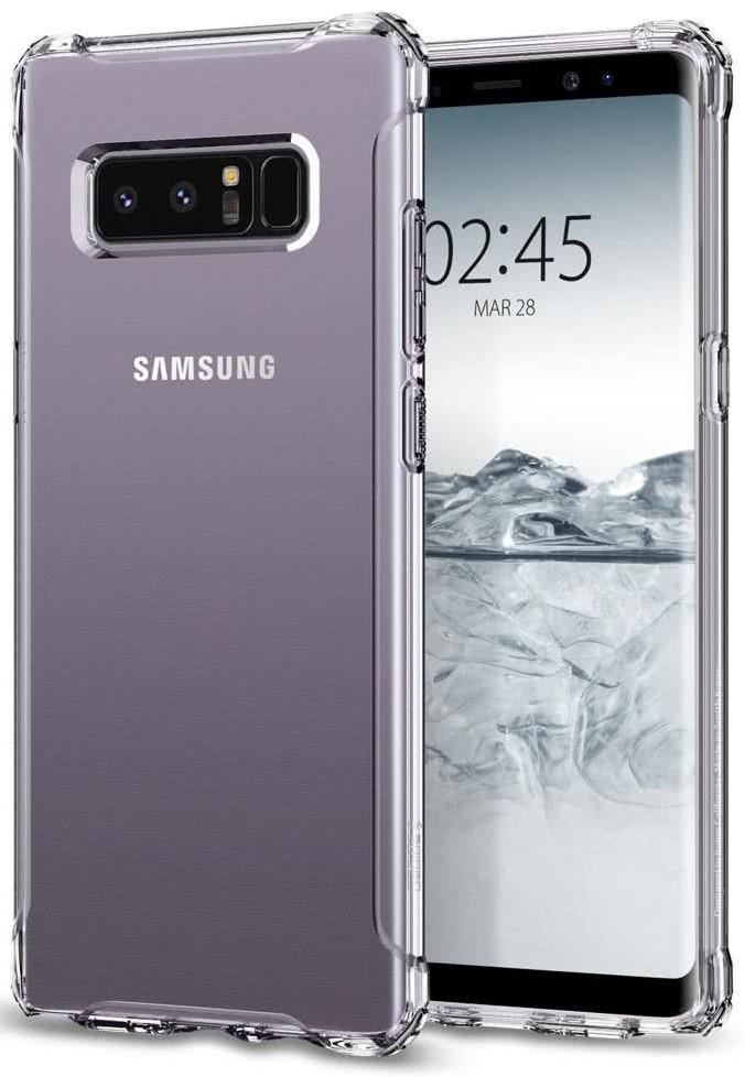 SPIGEN - Samsung Galaxy Note 8 Case Rugged Crystal Clear (587CS22062)