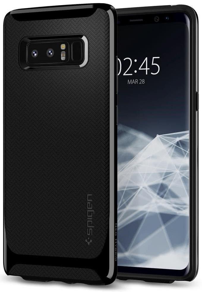 SPIGEN - Samsung Galaxy Note 8 Case Neo Hybrid Shiny Black (587CS22085)