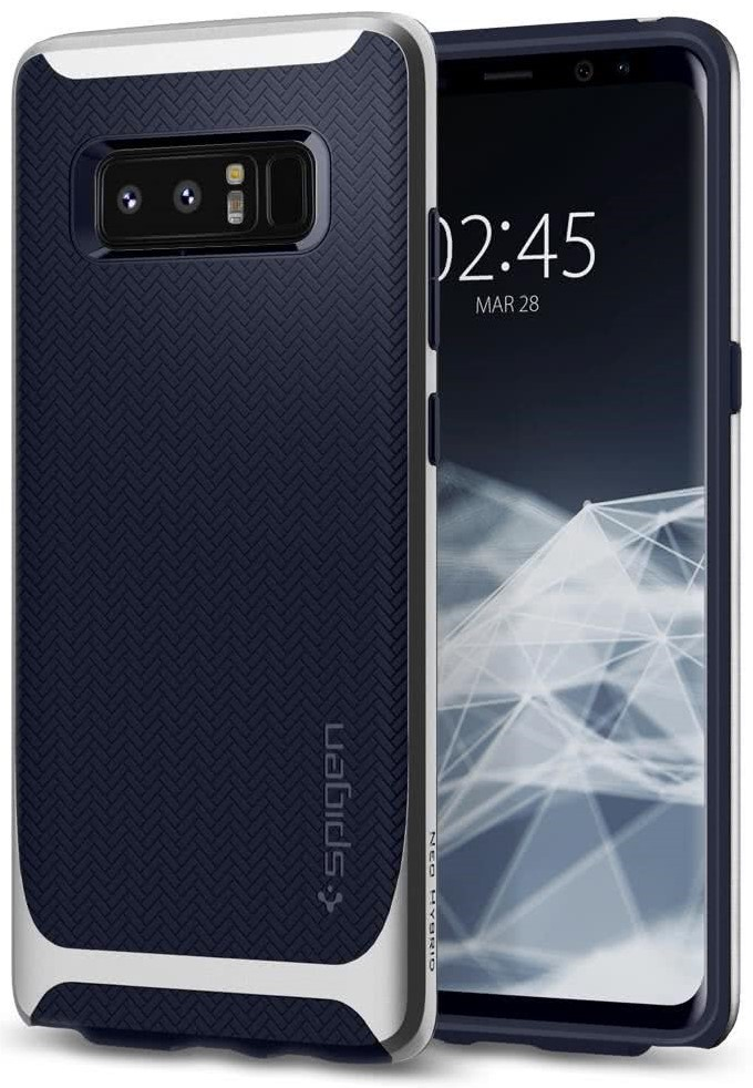 SPIGEN - Samsung Galaxy Note 8 Case Neo Hybrid Artic Silver (587CS22086)