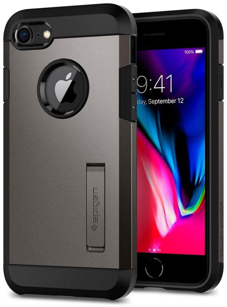 SPIGEN - Apple Iphone 8/7 Case Tough Armor 2  Gunmetal (054CS22214)