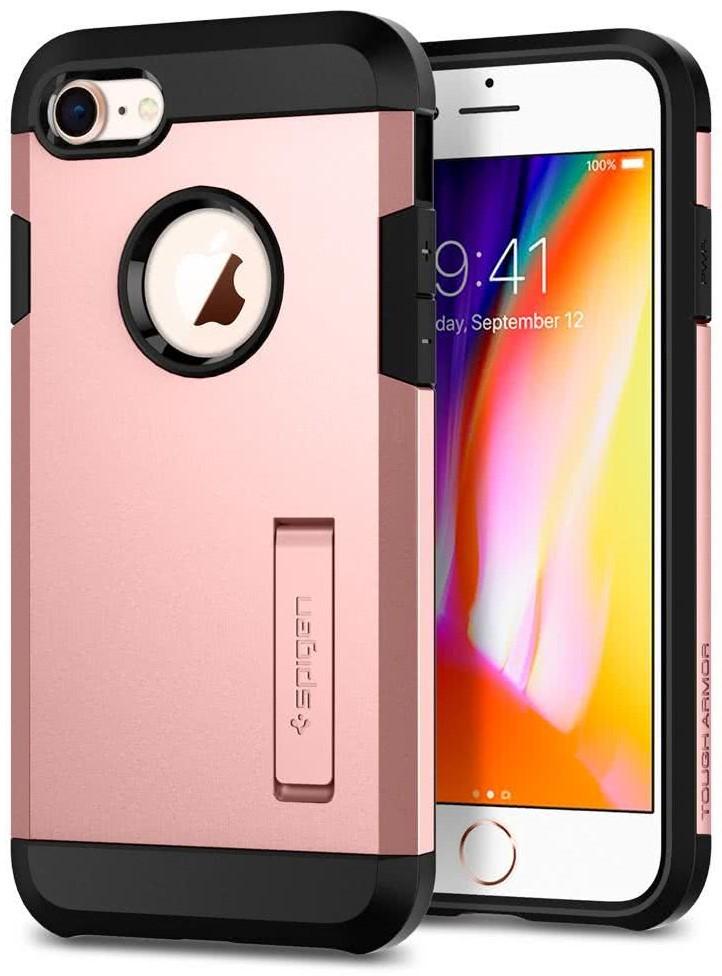 SPIGEN - Apple Iphone 8/7 Case Tough Armor 2  Rose Gold (054CS22215)