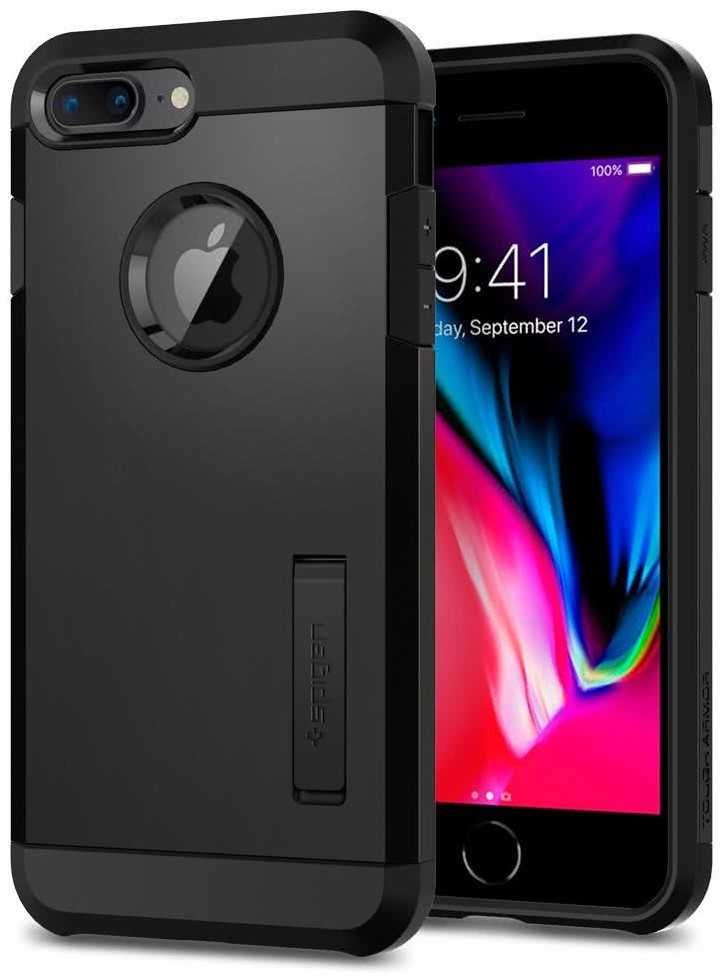 SPIGEN - Apple Iphone 8/7 Plus Case Tough Armor 2  Black (055CS22246)