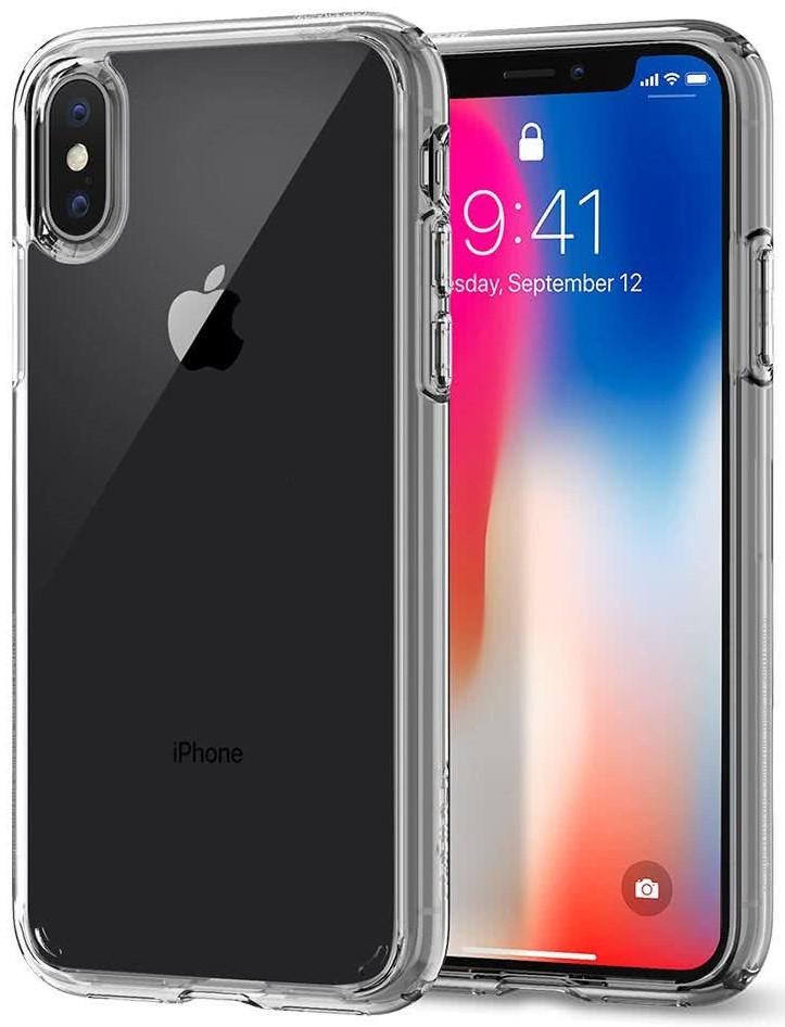 SPIGEN - iPhone X Case Ultra Hybrid Crystal Clear (057CS22127)