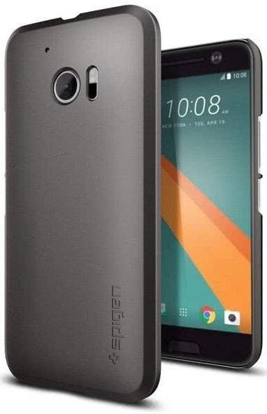 SPIGEN - HTC 10 Case Thin Fit Gunmetal (H09CS20274)
