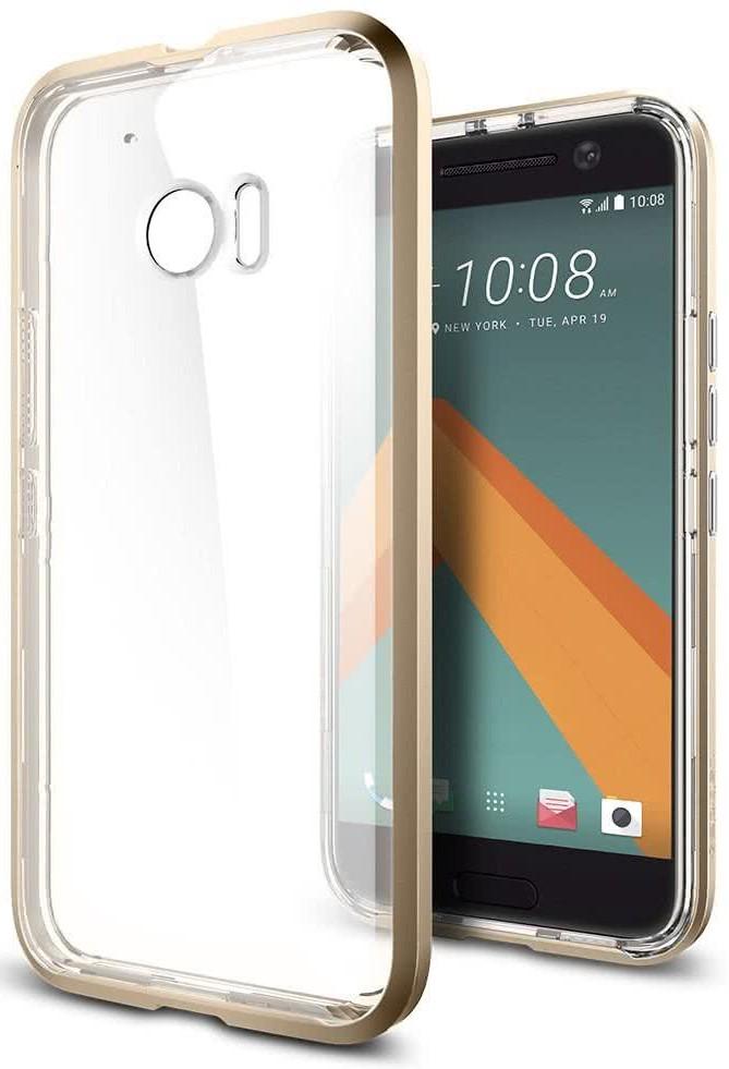 SPIGEN - HTC 10 Case Neo Hybrid Crystal Champagne Gold (H09CS20286)