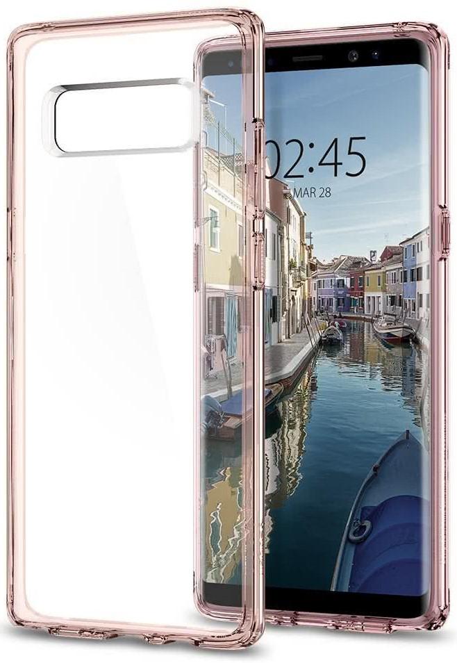 SPIGEN - Samsung Galaxy Note 8 Case Ultra Hybrid Crystal Pink (587CS22064)