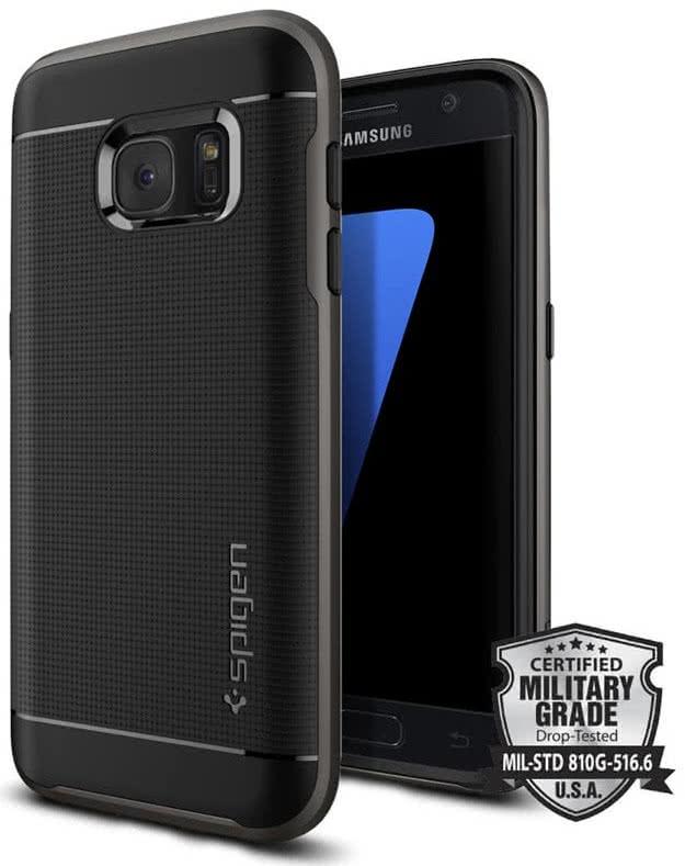 SPIGEN Galaxy S7 Case Neo Hybrid Gunmetal (555CS20141)