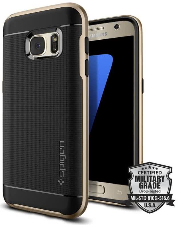 SPIGEN Galaxy S7 Case Neo Hybrid Champagne Gold (555CS20202)