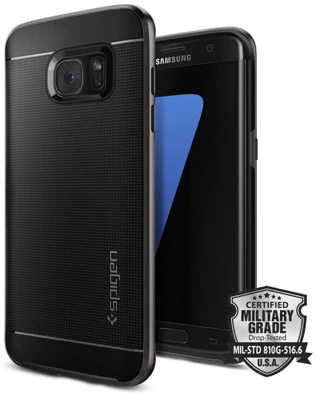 SPIGEN Galaxy S7 Edge Case Neo Hybrid Gunmetal (556CS20143)
