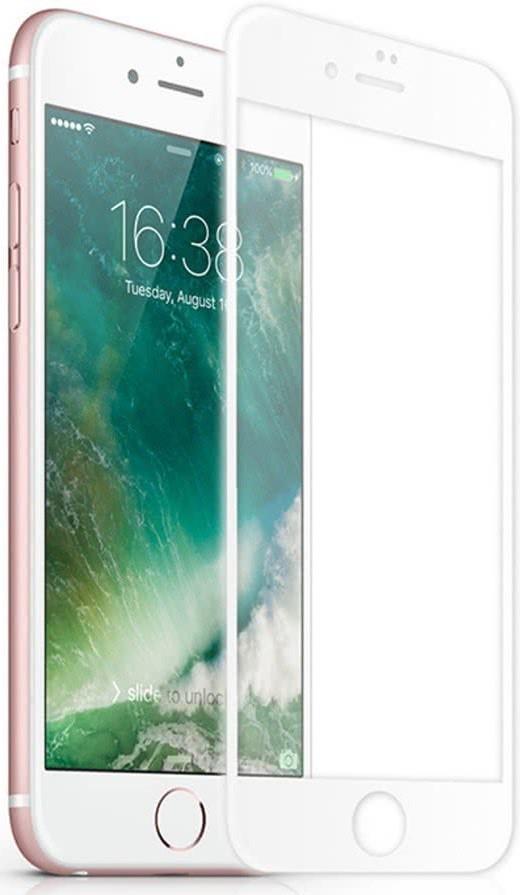 Sklenená fólia GLASS PRO+ pre iPhone 6Plus /6S Plus/7 Plus/8 Plus na celý displej, 0.30 mm, White