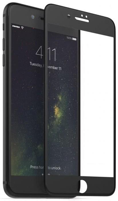 Sklenená fólia GLASS PRO+ pre iPhone 6Plus /6S Plus/7 Plus/8 Plus na celý displej, 0.30 mm, Black