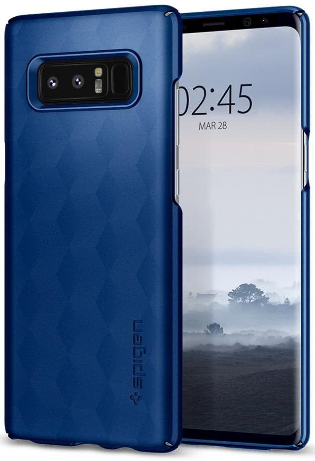 SPIGEN - Samsung Galaxy Note 8 Case Thin Fit Deepsea Blue (587CS22054)