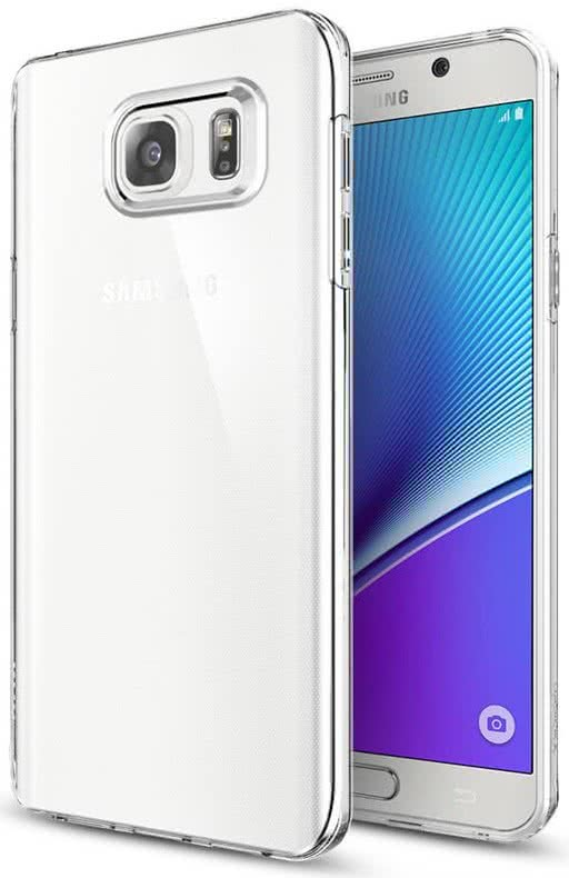 Spigen - Galaxy Note 5 Case Liquid Crystal (SGP11708)