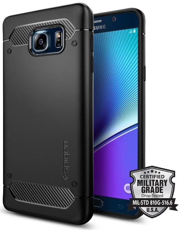 Spigen - Galaxy Note 5 Case Rugged Armor (SGP11683)